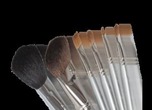 Professional Make-up Brushes