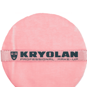 Kryolan Pink Velvet Powder Puff