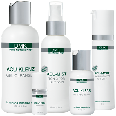 dmk acne products at flawless faces