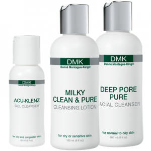 DMK cleansers flawless faces